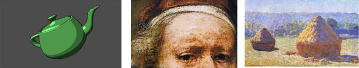 Image de Rembrandt et Monet